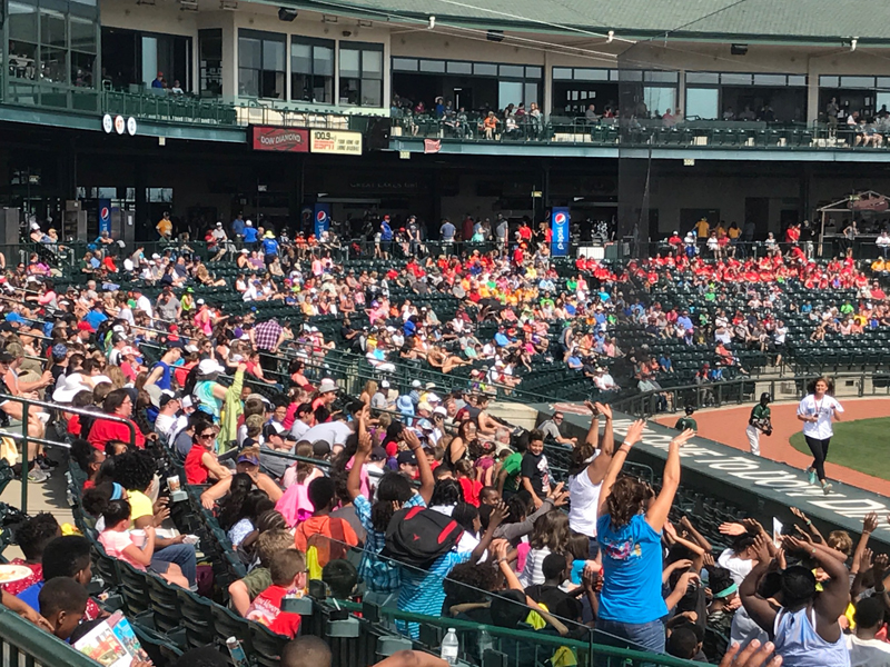 Loons School Day at Dow Diamond - May, 2017